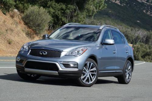 Photo Image Gallery & Touchup Paint: Infiniti EX in Hagane Blue   (RBP)  YEARS: 2016-2017