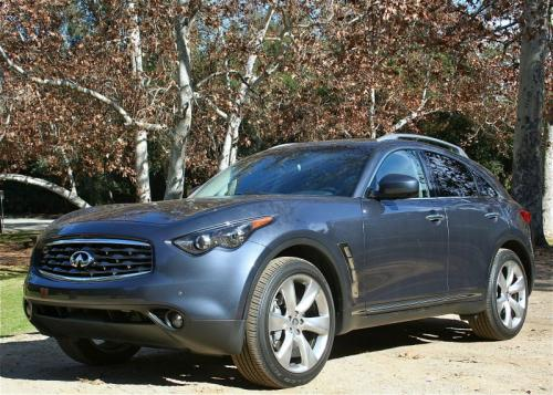 Photo Image Gallery & Touchup Paint: Infiniti FX in Blue Slate   (K52)  YEARS: 2009-2011