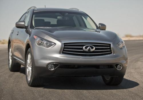 Photo Image Gallery & Touchup Paint: Infiniti FX in Graphite Shadow   (KAD)  YEARS: 2012-2017