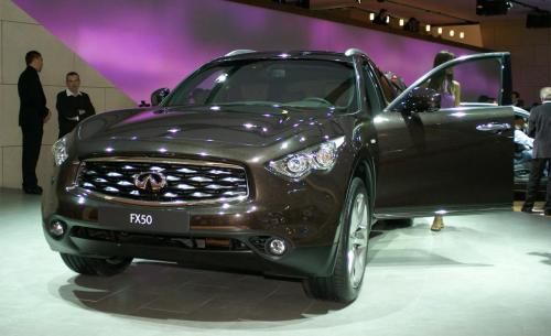 Photo Image Gallery & Touchup Paint: Infiniti FX in Midnight Mocha   (NAE)  YEARS: 2009-2017