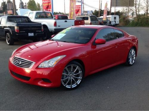 Photo Image Gallery & Touchup Paint: Infiniti G in Vibrant Red   (A54)  YEARS: 2008-2013