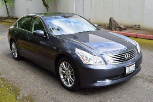 Photo Image Gallery & Touchup Paint: Infiniti G in Blue Slate   (K52)  YEARS: 2007-2013