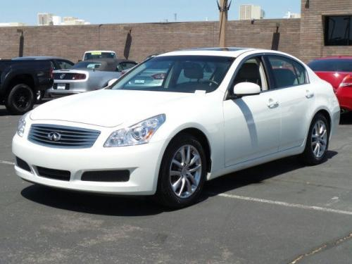 Photo Image Gallery & Touchup Paint: Infiniti G in Ivory Pearl   (QX1)  YEARS: 2007-2008