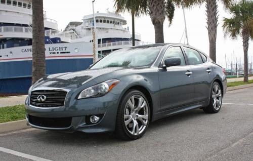 Photo Image Gallery & Touchup Paint: Infiniti M in Harbour Blue   (RAM)  YEARS: 2011-2012