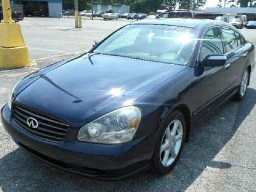 Photo Image Gallery & Touchup Paint: Infiniti Q in Twilight Blue   (BW5)  YEARS: 2002-2006