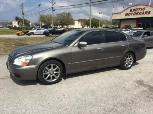 Photo Image Gallery & Touchup Paint: Infiniti Q in Royal Pewter   (K22)  YEARS: 2004-2006