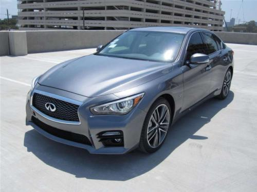 photo image gallery & touchup paint: infiniti q50 in graphite shadow