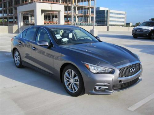 Photo Image Gallery & Touchup Paint: Infiniti Q50 in Graphite Shadow   (KAD)  YEARS: 2014-2018