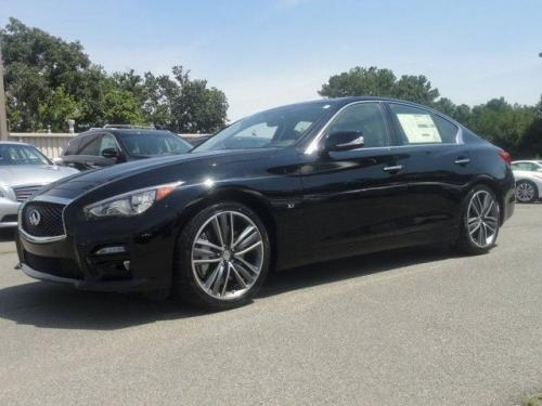 Photo Image Gallery & Touchup Paint: Infiniti Q50 in Black Obsidian   (KH3)  YEARS: 2014-2018