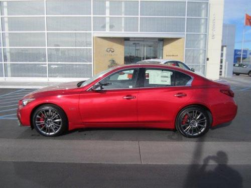 Photo Image Gallery & Touchup Paint: Infiniti Q50 in Dynamic Sunstone Red  (NBA)  YEARS: 2017-2018