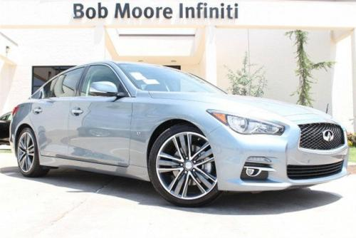 Photo Image Gallery & Touchup Paint: Infiniti Q50 in Hagane Blue   (RBP)  YEARS: 2014-2018