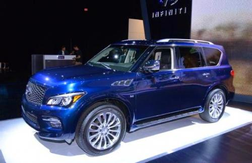 Photo Image Gallery & Touchup Paint: Infiniti QX in Hermosa Blue   (BW5)  YEARS: 2016-2017