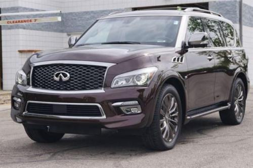 Photo Image Gallery & Touchup Paint: Infiniti QX in Mocha Almond   (CAS)  YEARS: 2015-2017