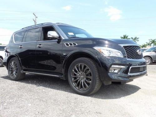 Photo Image Gallery & Touchup Paint: Infiniti QX in Imperial Black   (GAL)  YEARS: 2015-2017
