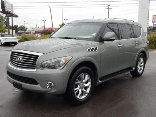 Photo Image Gallery & Touchup Paint: Infiniti QX in Mountain Sage   (JAE)  YEARS: 2011-2012