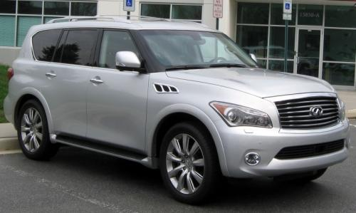 Photo Image Gallery & Touchup Paint: Infiniti QX in Liquid Platinum   (K23)  YEARS: 2015-2015