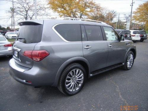 Photo Image Gallery & Touchup Paint: Infiniti QX in Graphite Shadow   (KAD)  YEARS: 2015-2018