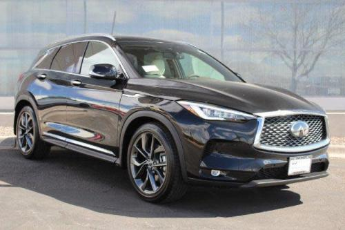 Photo Image Gallery & Touchup Paint: Infiniti Qx50 in Eclipse Black   (G41)  YEARS: 2019-2019