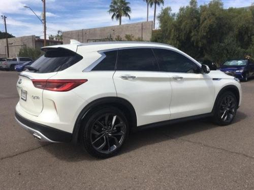 Photo Image Gallery & Touchup Paint: Infiniti Qx50 in Majestic White   (QAB)  YEARS: 2019-2019