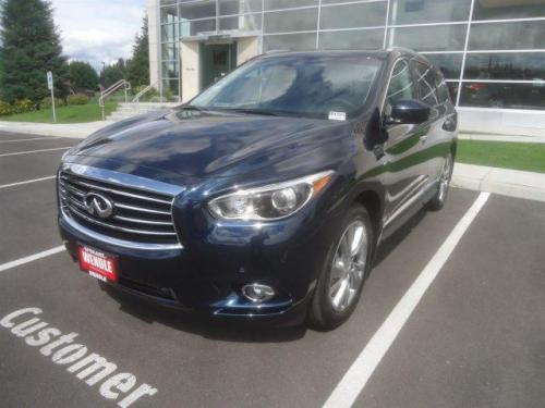 Photo Image Gallery & Touchup Paint: Infiniti Qx60 in Hermosa Blue   (BW5)  YEARS: 2015-2019