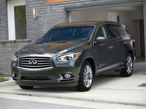 Photo Image Gallery & Touchup Paint: Infiniti Qx60 in Emerald Graphite   (EAJ)  YEARS: 2013-2015
