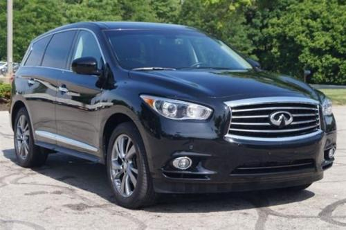 Photo Image Gallery & Touchup Paint: Infiniti Qx60 in Black Obsidian   (KH3)  YEARS: 2013-2019