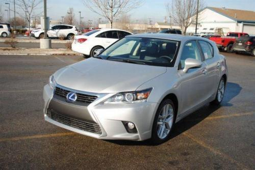 Photo Image Gallery & Touchup Paint: Lexus CT in Silver Lining Metallic  (1J4)  YEARS: 2013-2016