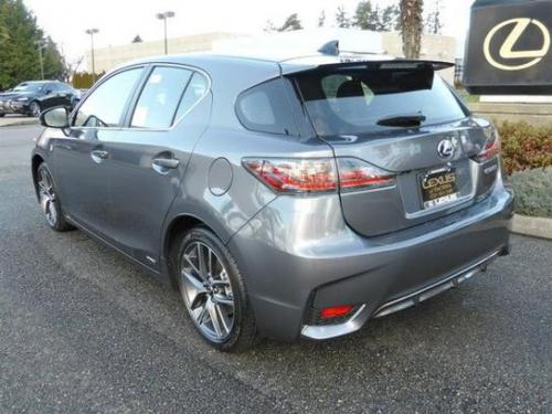 Photo Image Gallery & Touchup Paint: Lexus CT in Nebula Gray Pearl  (2LL)  YEARS: 2014-2017