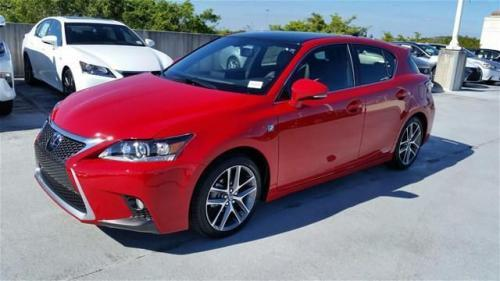 Photo Image Gallery & Touchup Paint: Lexus CT in Redline    (2LN)  YEARS: 2014-2017