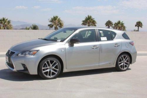 Photo Image Gallery & Touchup Paint: Lexus CT in Atomic Silver   (2MN)  YEARS: 2016-2017