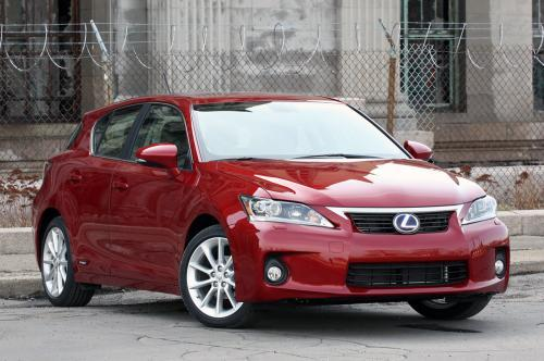 Photo Image Gallery & Touchup Paint: Lexus CT in Matador Red Mica  (3R1)  YEARS: 2012-2013