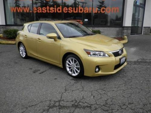 Photo Image Gallery & Touchup Paint: Lexus CT in Daybreak Yellow Mica  (5B1)  YEARS: 2011-2012