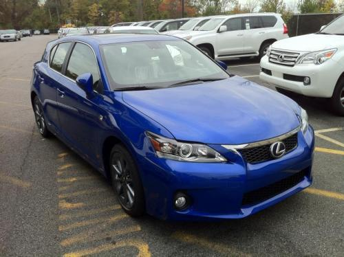 Photo Image Gallery & Touchup Paint: Lexus CT in Ultrasonic Blue Mica  (8U1)  YEARS: 2012-2013