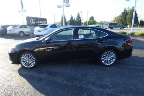 Photo Image Gallery & Touchup Paint: Lexus ES in Caviar    (223)  YEARS: 2016-2017
