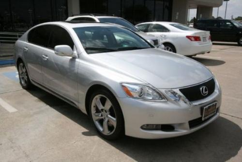 Photo Image Gallery & Touchup Paint: Lexus GS in Mercury Metallic   (1F2)  YEARS: 2007-2011