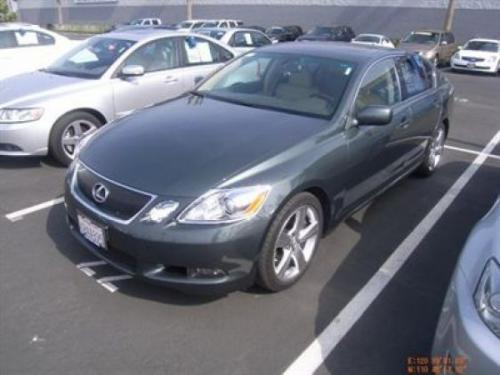 Photo Image Gallery & Touchup Paint: Lexus GS in Verdigris Mica   (6V0)  YEARS: 2007-2009