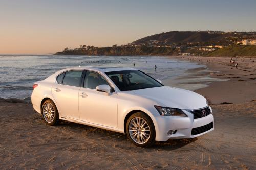 Photo Image Gallery & Touchup Paint: Lexus GS in Starfire Pearl   (077)  YEARS: 2013-2015