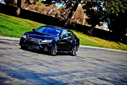 Photo Image Gallery & Touchup Paint: Lexus GS in Obsidian    (212)  YEARS: 2013-2017