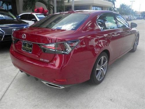 Photo Image Gallery & Touchup Paint: Lexus GS in Matador Red Mica  (3R1)  YEARS: 2016-2017