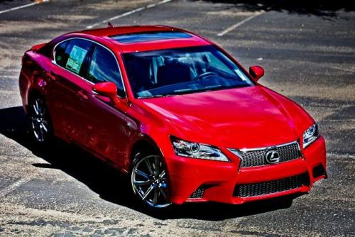 Photo Image Gallery & Touchup Paint: Lexus GS in Riviera Red   (3S8)  YEARS: 2013-2015