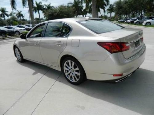 Photo Image Gallery & Touchup Paint: Lexus GS in Satin Cashmere Metallic  (4U7)  YEARS: 2013-2013