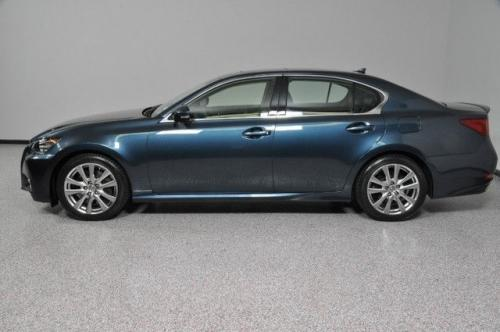 Photo Image Gallery & Touchup Paint: Lexus GS in Meteor Blue Mica  (8W3)  YEARS: 2013-2015