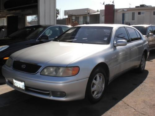 Photo Image Gallery & Touchup Paint: Lexus GS in Alpine Silver Metallic  (199)  YEARS: 1994-1997