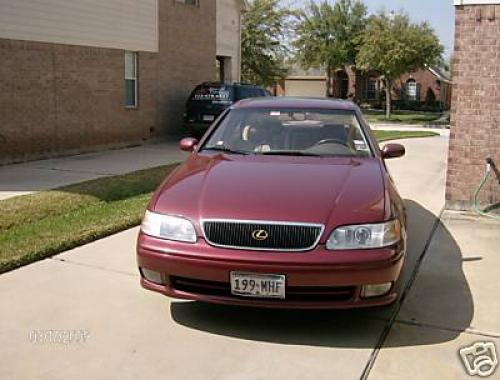 Photo Image Gallery & Touchup Paint: Lexus GS in Prussian Red Pearl  (3J8)  YEARS: 1993-1995
