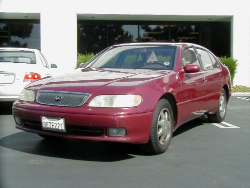 Photo Image Gallery & Touchup Paint: Lexus GS in Ruby Pearl   (3L3)  YEARS: 1996-1997