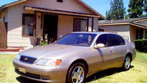 Photo Image Gallery & Touchup Paint: Lexus GS in Cashmere Beige Metallic  (4M9)  YEARS: 1995-1997