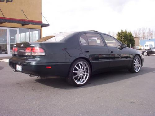 Photo Image Gallery & Touchup Paint: Lexus GS in Royal Jade Pearl  (6M2)  YEARS: 1993-1995