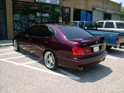 lexus gs300 black 2001