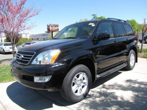 Photo Image Gallery & Touchup Paint: Lexus GX in Black Onyx   (202)  YEARS: 2003-2009