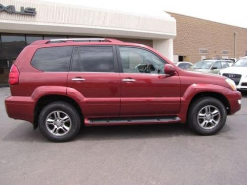Photo Image Gallery & Touchup Paint: Lexus GX in Salsa Red Pearl  (3Q3)  YEARS: 2008-2009